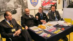 tavolo relatori, da sx Lamborghini, Loi, Zavatti, Manservisi